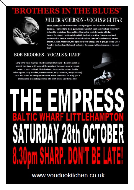 'BROTHERS IN THE BLUES' AT THE EMPRESS