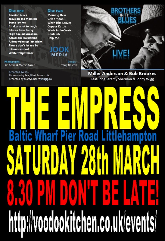 BROTHERS IN THE BLUES AT THE EMPRESS LITTLEHAMPTON