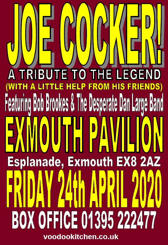 JOE COCKER: A TRIBUTE TO THE LEGEND AT EXMOUTH PAVILION