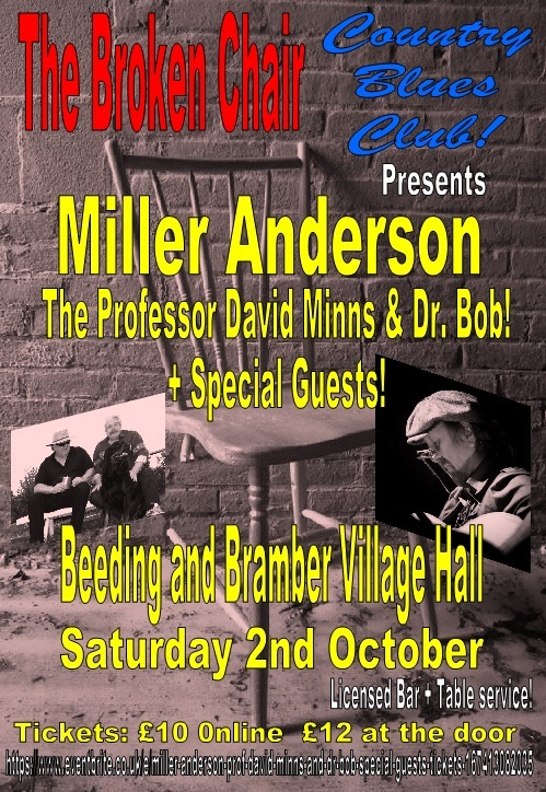 Miller Anderson and Professor Minns & Dr. Bob + Special Guests